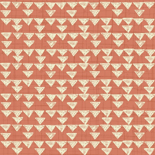 Quilting Treasures Bloom Orange graphic print 1649-23933-C