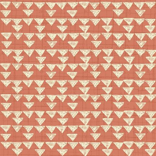 Quilting Treasures Bloom Orange graphic print 1649-23933-C