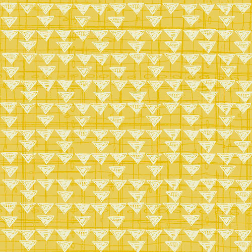 Quilting Treasures Bloom graphic yellow print 1649-23933-S