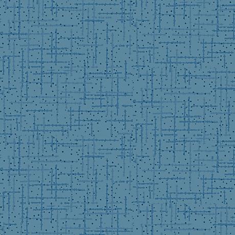 Quilting Treasures Matrix Mid Blue Tone-on Tone 1649-23078-W