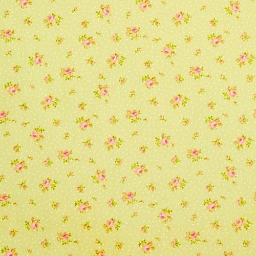 Moda Bespoke Blooms Yellow Floral Print 18621-15