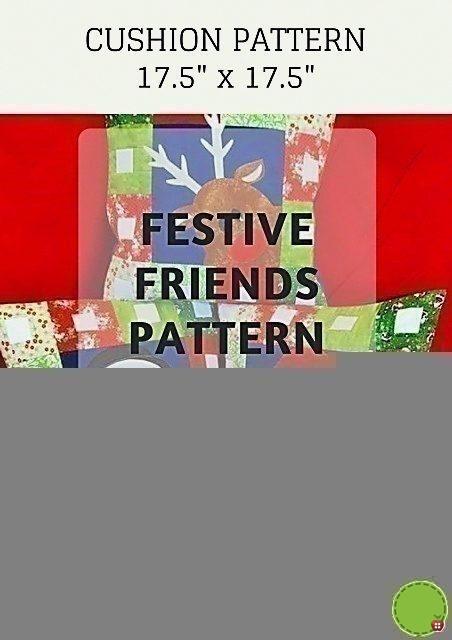 Festive Friends Pattern - Cushions