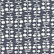 Moda Weeds Grey with White Floral 22224-13