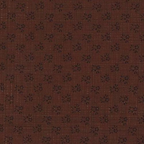 Moda Josephine French General Brown on Brown Mini Floral 13659-34
