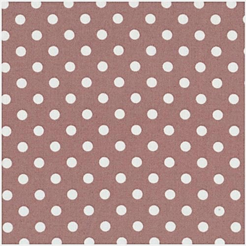 Stof Quilters Basic Light Brown with White Dot 4517-309